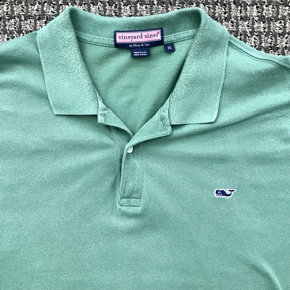 f119160f893ed3 Vineyard Vines Men's Polo Shirt XL GREEN polo. M_5b47b623bb7615d8b42870f3